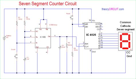 simple  segment counter circuit