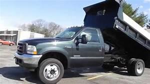 2004 Ford F-550 Dump Truck 4x4 6 0l Powerstroke Diesel 88k-miles