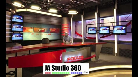 Virtual Studio News Room Youtube