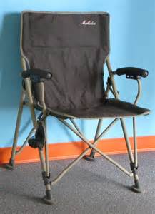 maccabee army green c chair with carry bag