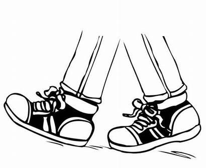 Walking Clipart Foot Feet Winter Events Assiginack
