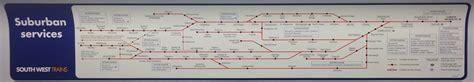 South West Trains Map