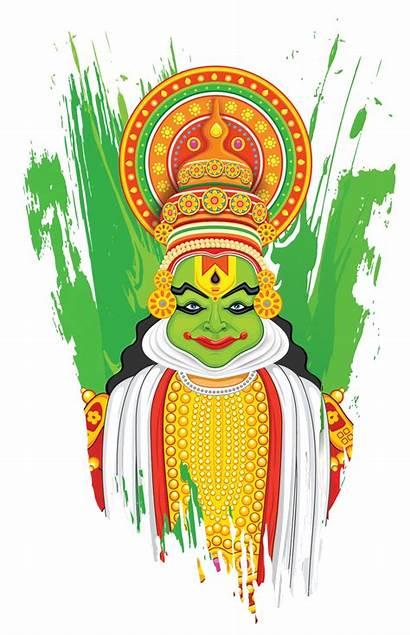 Kathakali Clipart Dance Onam Kerala Festival Mohiniyattam