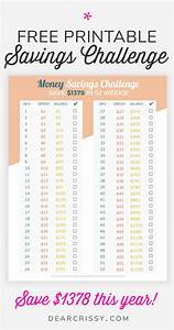 Easy 52 Weeks Money Savings Challenge - Save $1378 This Year!