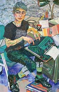 expressive color filled portraits of friends and family by With portraits by hope gangloff