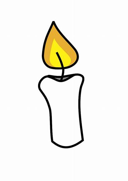 Candle Clip Clipart Flame Candles Advent Cliparts