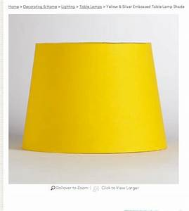 Yellow lamp shade from world market bedroom dreams