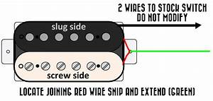 Modifying A Single Conductor Humbucker To Split Coil