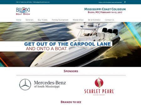 Biloxi Boat Show by Event Promotion The Biloxi Boat Show The Focus