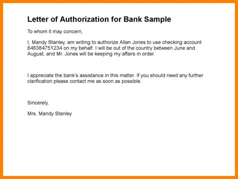 authorization letter  collect cheque dialysis