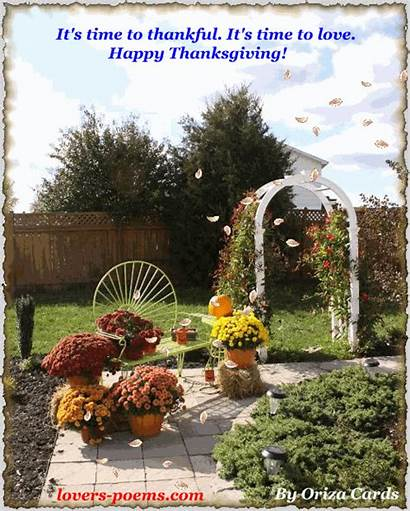 Messages Thanksgiving Gifs Happy Poems Birthday Romantic
