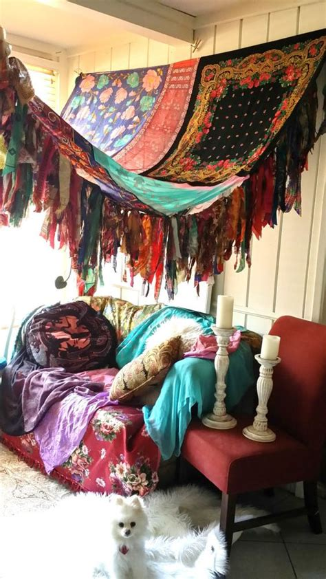 hippie canopy bohemian bedrooms canopies and bohemian on pinterest