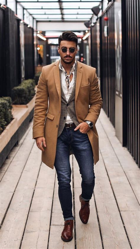 Dapper Winter Outfits For Men Moda Fashion