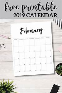 August Monthly Calendar 2020 20 Free Printable Calendars For 2019 Free Printable