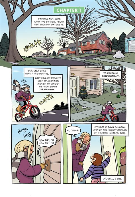 Read excerpt from new Baby-Sitters Club graphic novel   EW.com
