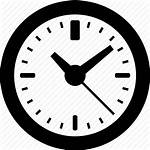 Clock Icon Hours Wall Period Icons Vector