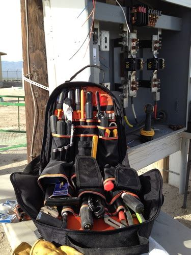 klein tools  bp tradesman pro organizer backpack
