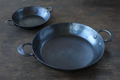 lighter alternative  cast iron pans hand forged  seattle remodelista ironware carbon