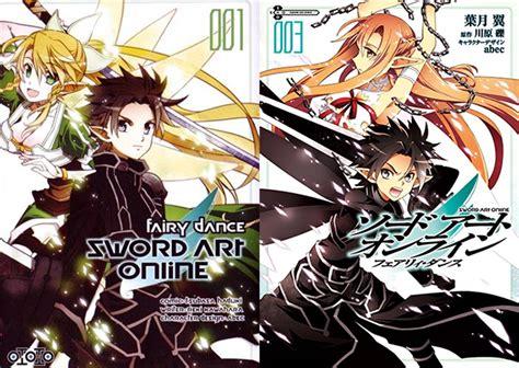 le manga sword art  fairy dance en trailer fr