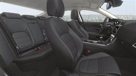 jaguar xe  dimensions boot space  interior