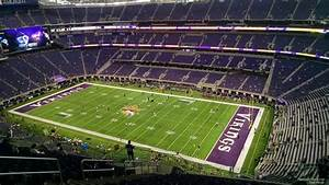 Vikings Stadium Seating Chart With Seat Numbers U S Bank Stadium Section 307 Minnesota Vikings