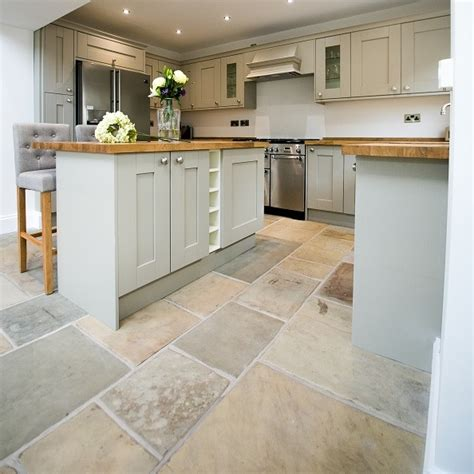 cobblestone kitchen floor reclaimed yorkstone floors hints and tips from ribble 2293