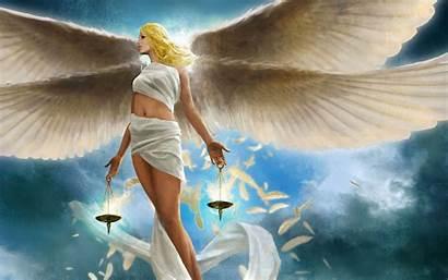 Angel Wallpapers Backgrounds Wings Angels Desktop Blonde