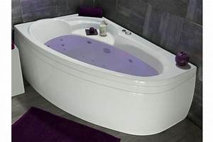 Baignoire D Angle Asymétrique : baignoire d 39 angle asym trique optez pour une baignoire ~ Dailycaller-alerts.com Idées de Décoration