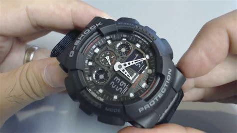 Casio G-shock Military Analog Digital Watch Ga100mc-1a