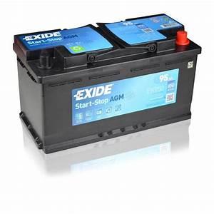 Starterbatterie 12v 90ah : exide agm ek950 12v 95ah ready car battery start stop ebay ~ Kayakingforconservation.com Haus und Dekorationen