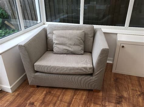 Large Armchair Loveseat by Ikea Stockholm 1 5 Seat Sofa Large Armchair In A