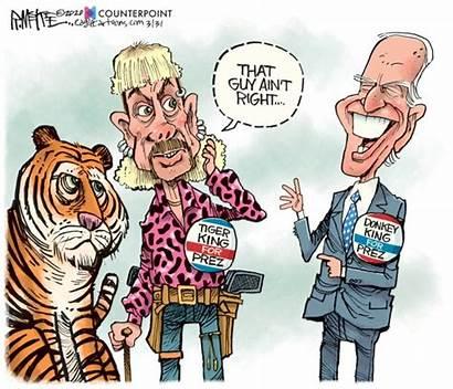 Trump Biden Cartoons Joe Covid Coronavirus Cartoon