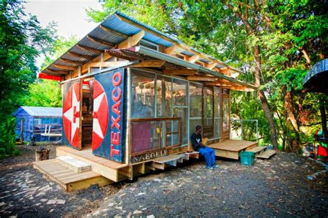 Shed From Recycled Materials by Trash To Treasure 6 Awesome Buildings Made Of Recycled