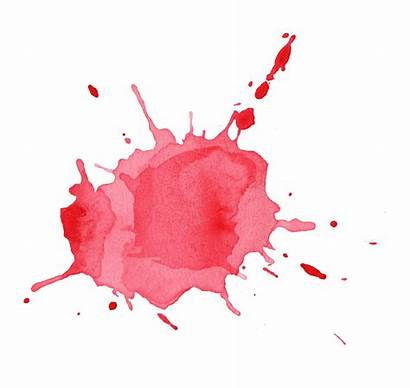 Watercolor Splatter Water Transparent Splash Watercolour Splotch