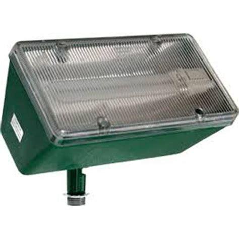 filament design adrien 1 light green outdoor flood light