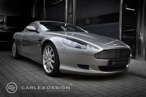 custom aston martin aston martin db9 custom interior is worthy of james bond