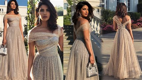 Priyanka Chopra Wedding Dress Ariel View Trends Fashion