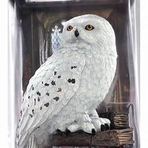 HARRY POTTER Figure Statue EDVIGE Owl MAGICAL CREATURES