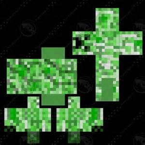 minecraft crepper 3d model ma fbx
