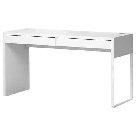 cuisine ikia micke desk white 142x50 cm ikea