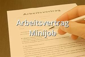Abrechnung Minijob 2015 : arbeitsvertrag minijob muster musterix ~ Themetempest.com Abrechnung