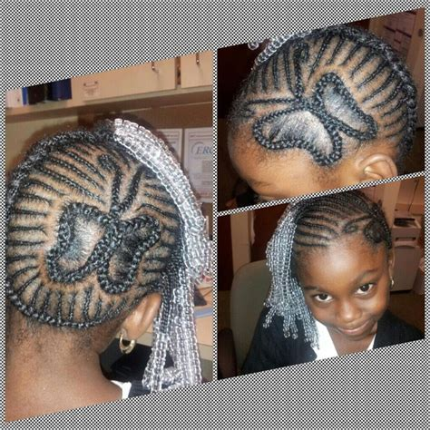 kids butterfly cornrow designhairstyle cornrow designs
