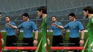 FIFA 14: Xbox 360 vs. PlayStation 3 Comparison - YouTube