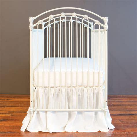 Bratt Decor Venetian Crib Antique White by Baby Crib Designer Nursery Luxury Crib