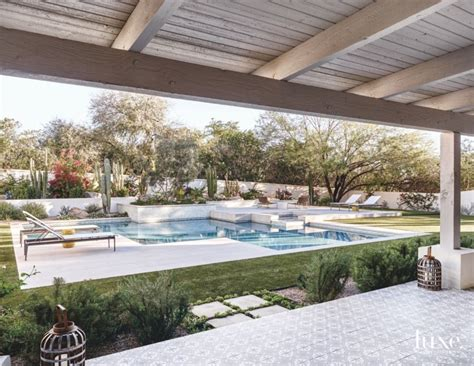 18 summer ready pool decks for entertaining luxe