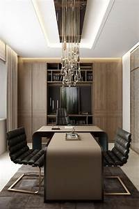 Ceo, Office, Design, Architectural, Rendering