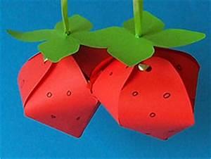 Bastelideen Sommer Kindergarten : erdbeeren basteln im sommer basteln gestalten ~ Frokenaadalensverden.com Haus und Dekorationen