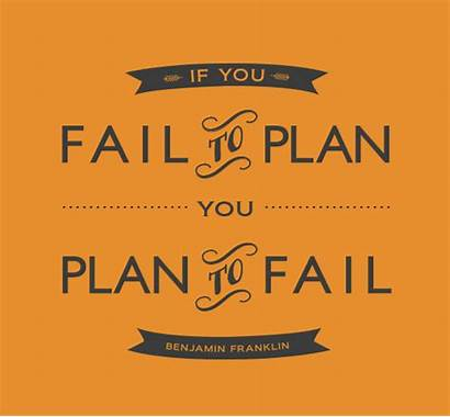 Plan Fail Planning Quotes Strategy Failure Badge