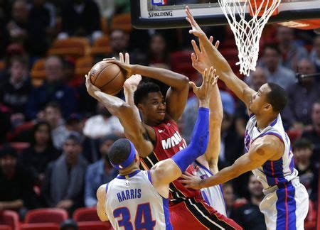 Andre Drummond-less Pistons fall at Miami - mlive.com