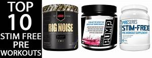 What Are The Top 10 Stim Free Pre Workout Supplements